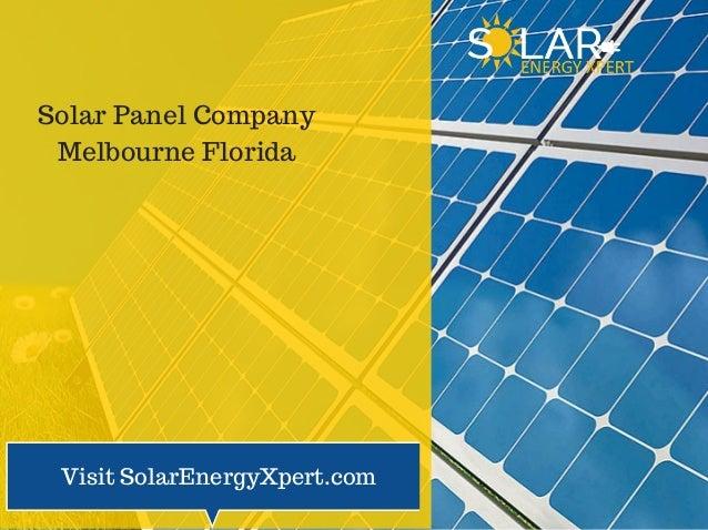 Solar Company: Best Company Solar Panels