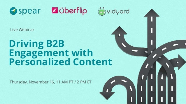 Driving B2B Engagement with Personalized Content