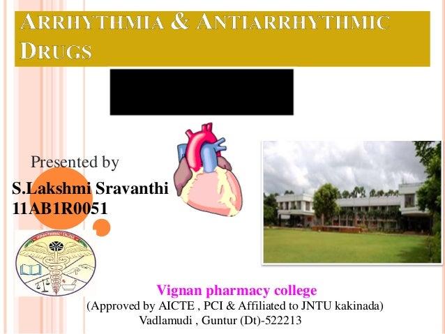 Presented by  S.Lakshmi Sravanthi  11AB1R0051  Vignan pharmacy college  (Approved by AICTE , PCI & Affiliated to JNTU kaki...
