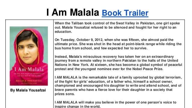 I Am Malala Summary & Study Guide