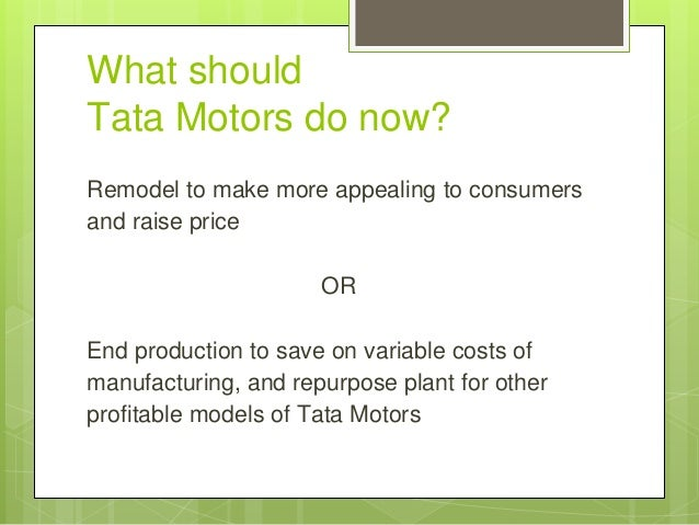 tata nano case analysis Tata nano - the peoples car case study solution, tata nano - the peoples car case study analysis, subjects covered blue ocean strategy disruptive innovation emerging.