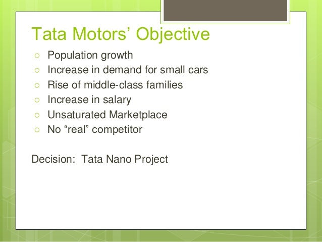 objectives of tata motors Beyond service aids campaign view  tata motors intends to innovate & upgrade the iti by training the iti faculty through our  up gradation of iti objectives.