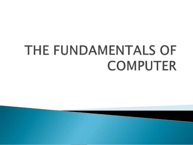  Computer is an electronic device that stores, retrieves, and processes data, and can be programmed with instructions. A ...