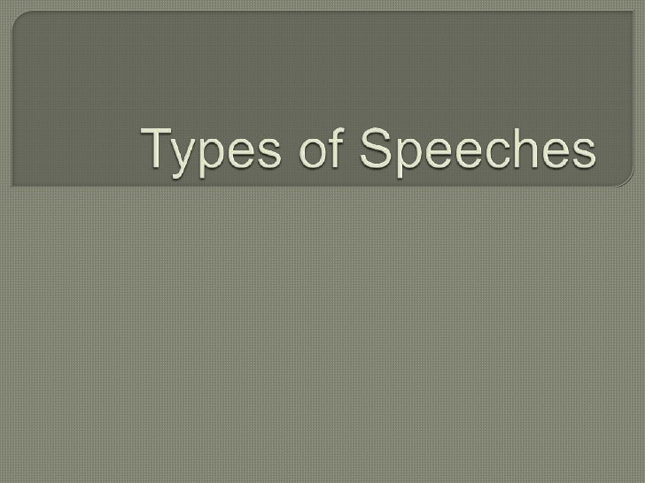 1. Speech to Inform – This types of   Speech aims to Impart knowledge   to make things clear to gain new   Information and...