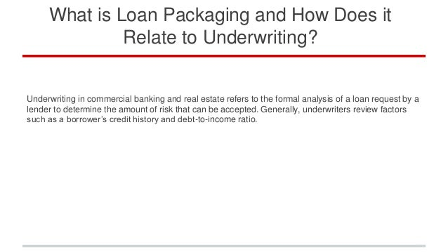 how to underwrite a church loan and investment