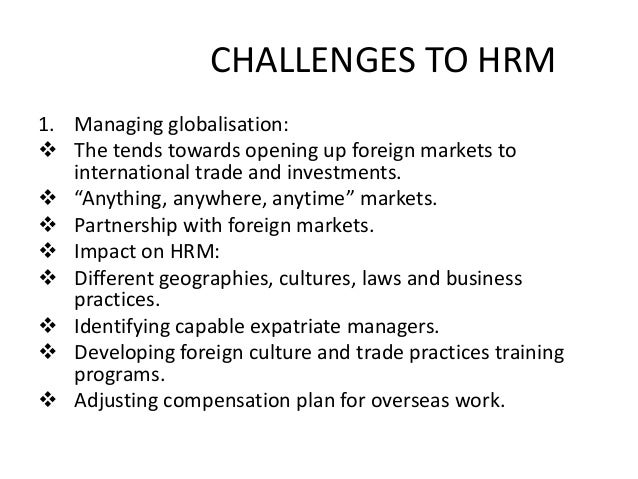 10 of Today's Common Human Resource Challenges