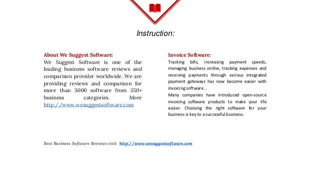 Best Free Open Source Invoice Software For Small Business - Free open source invoice software