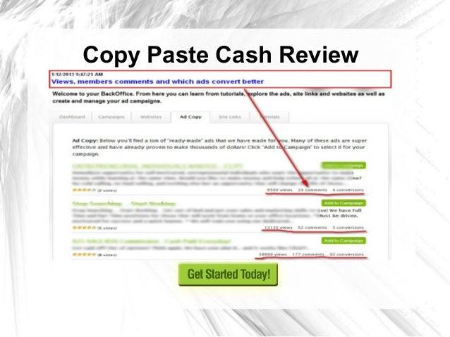 Copy Paste Cash Review