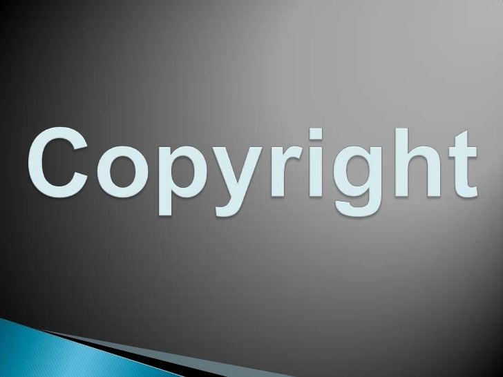 Copyright<br />