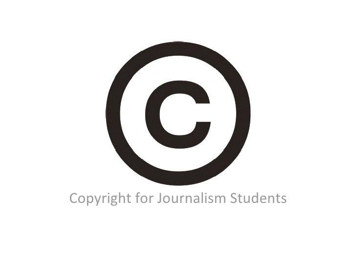 CopyrightforJournalismStudents