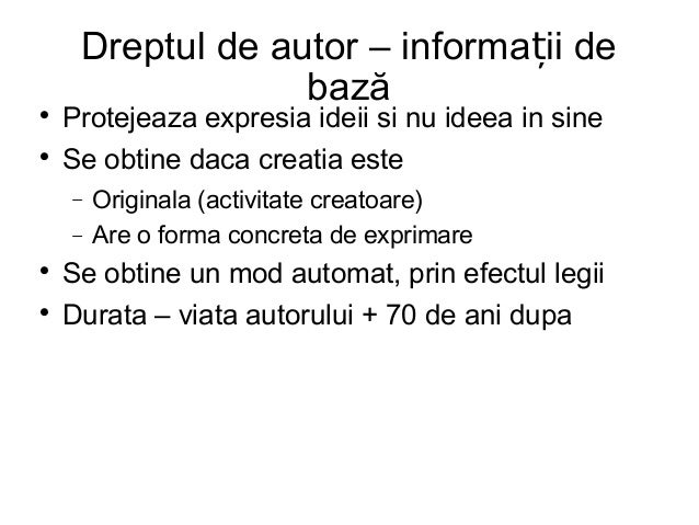 Prezentare Copyright - Bogdan Manolea (ApTI)- atelier OER 14.02.2014 Slide 2