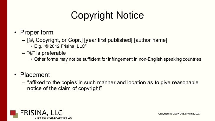 Copyright Law for the Artist/Entrepreneur