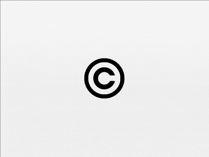 Is sharing caring?     Copyright vests by default    Copyright Act 98 of 1978    Severely limits how content can be use...