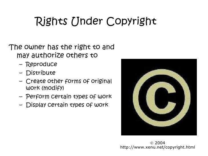Copyright Slide Show