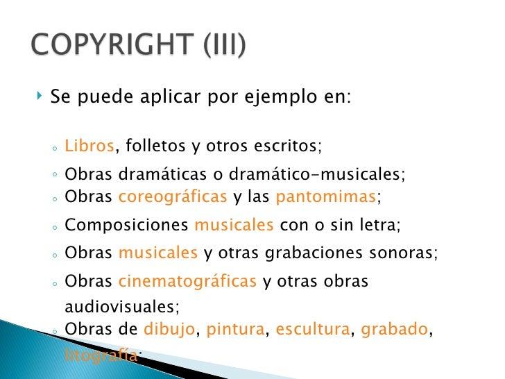 Copyright cc y for Licencia de obras cuando es necesaria