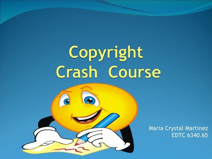 Maria Crystal Martinez EDTC 6340.65