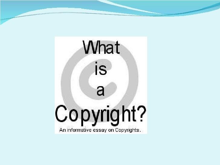 Copyright crash course part 3 Slide 3