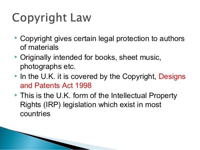 an analysis of the current copyright and patent laws inappropriate for computer software To ascertain the impact the current intellectual property laws is  to analyze  trends for the future in the area of intellectual property as they.