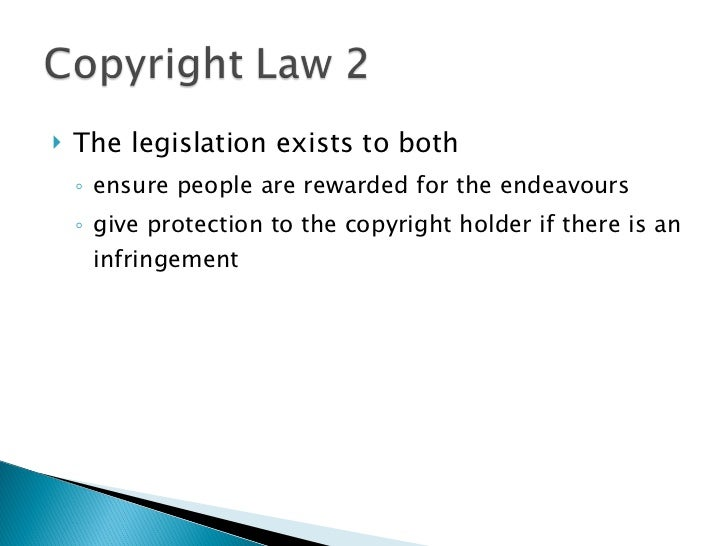 an opinion that the current copyright and patent laws are inappropriate for computer software A copyright protects original works of authorship including literary, dramatic, musical, and artistic works, such as poetry, novels, movies, songs, computer software, and architecture the duration of copyright protection depends on several factors.