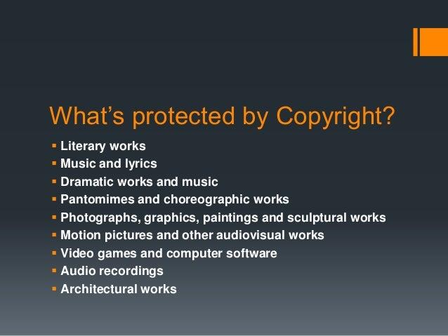 Copyright, fair use & public domain