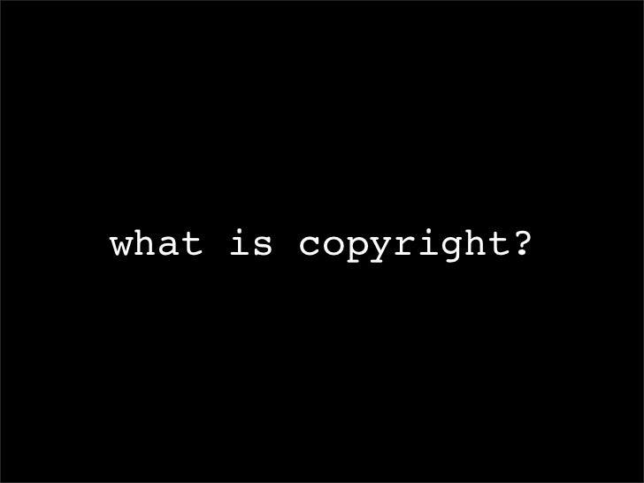 Copyright?  Homegrown Creative Commons Fair Use