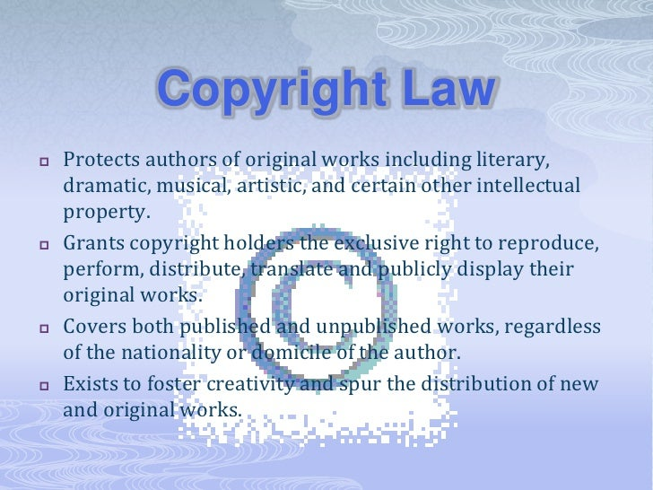 Copyright Law Fair Use Creative Commons And The Public