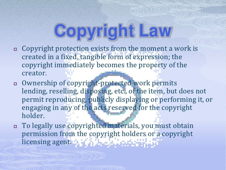Frequently asked copyright questions