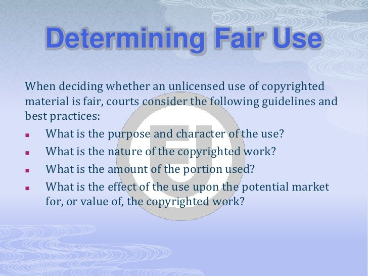 About Copyright