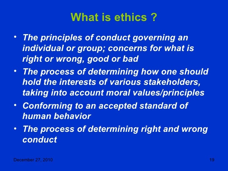 the integral relation of ethics and morality Ethics (~morality) are principles deciding what is right and wrong for an individual or a group of people values are principles whose implementations, one considers to be of high virtue, irrespective of them being either ethical or unethical.