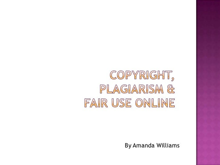 Copyright & Plagiarism Online for 4-5th Graders