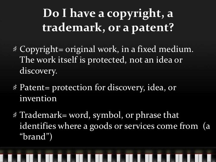 Copyright For Musicians