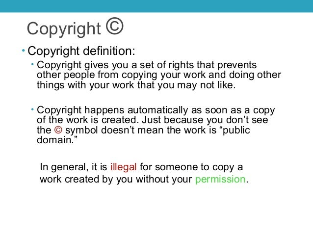 The Five Step Approach For Analyzing Copyright Use