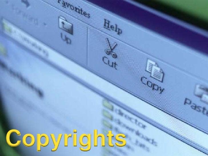 Copyrights<br />