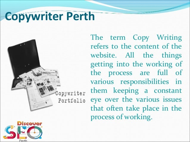 Website content writing perth