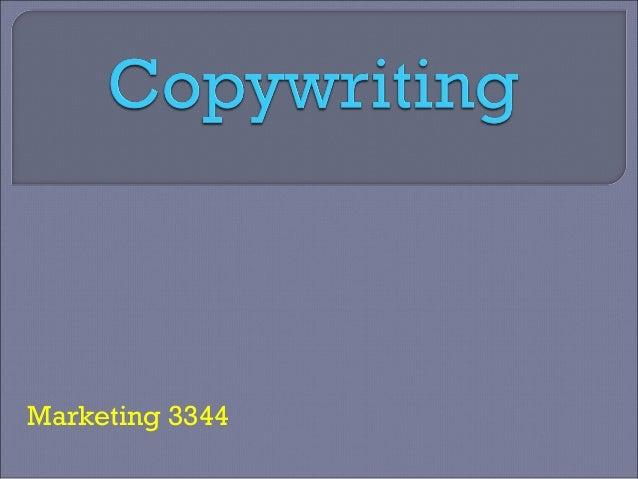 Marketing 3344