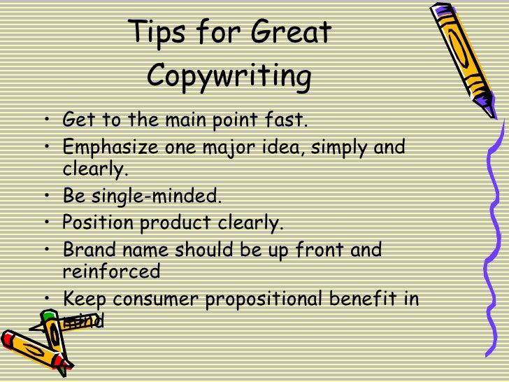 Copywriting Slide 3