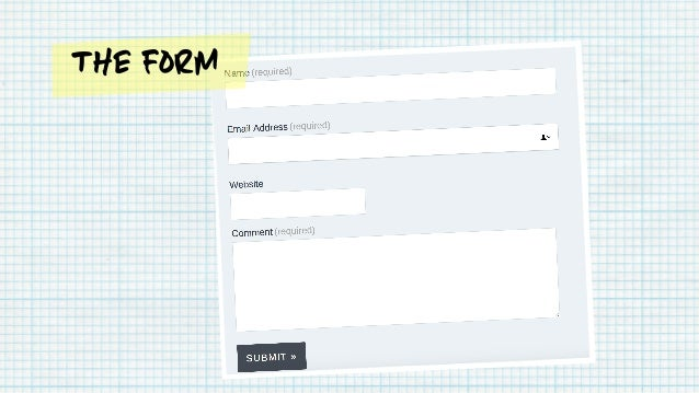 The Form Your name Explanation Add Placeholder text Helper text