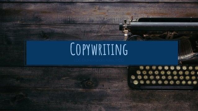 CopywritingLDG Elid Hernández Avilés, MDD