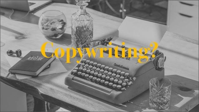 Copywriting. Trochę teorii i trochę praktyki Slide 2