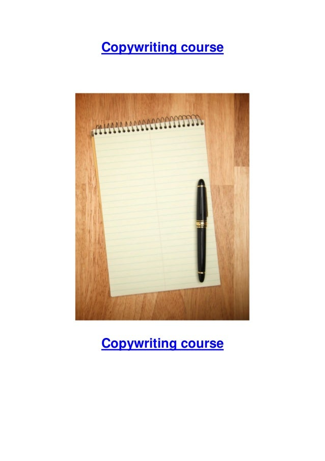 Copywriting course Copywriting course