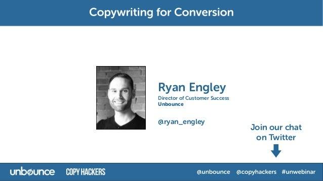 Copywriting for Conversion Webinar with Joanna Wiebe  Slide 2
