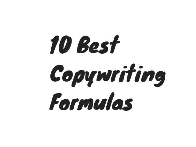 10Best Copywriting Formulas