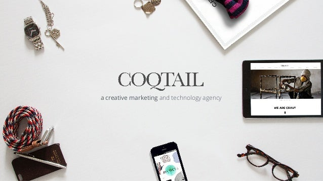 a creative marketing and technology agency