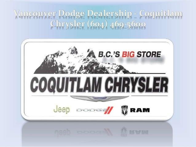 Vancouver Dodge Dealership - Coquitlam Chrysler (604) 469-5600