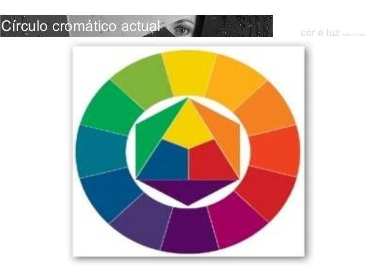 Círculo cromático actual cor e luz  Isabel Costa