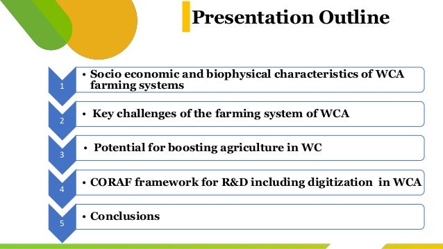 AKADEMIYA2063-CORAF Learning Event, July 6, 2021 : Overview of farming systems in West and Central Africa  Slide 2