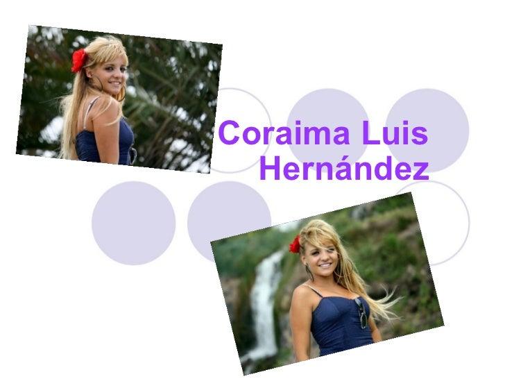 Coraima Luis Hernández