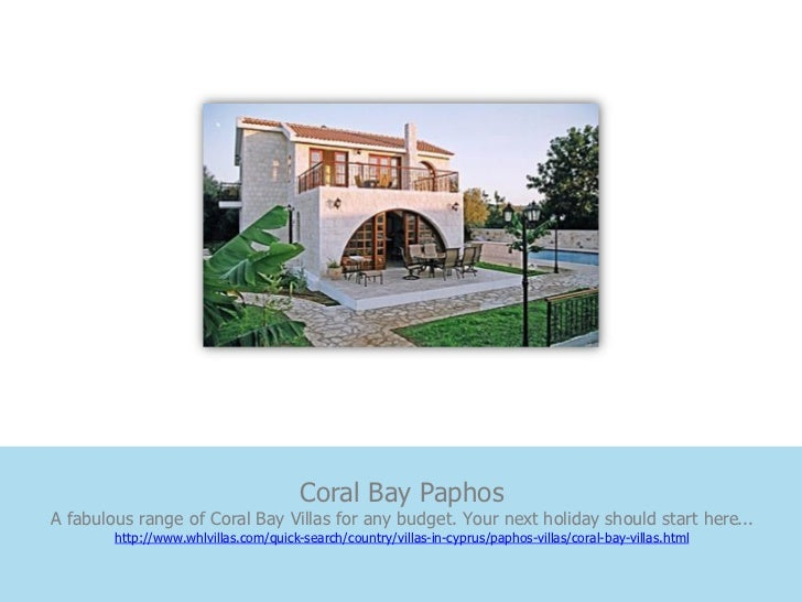 Coral Bay PaphosA fabulous range of Coral Bay Villas for any budget. Your next holiday should start here...        http://...