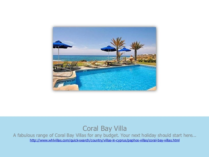 Coral Bay VillaA fabulous range of Coral Bay Villas for any budget. Your next holiday should start here...        http://w...