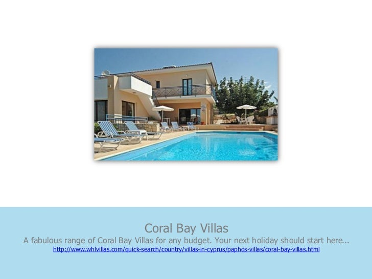 Coral Bay VillasA fabulous range of Coral Bay Villas for any budget. Your next holiday should start here...        http://...